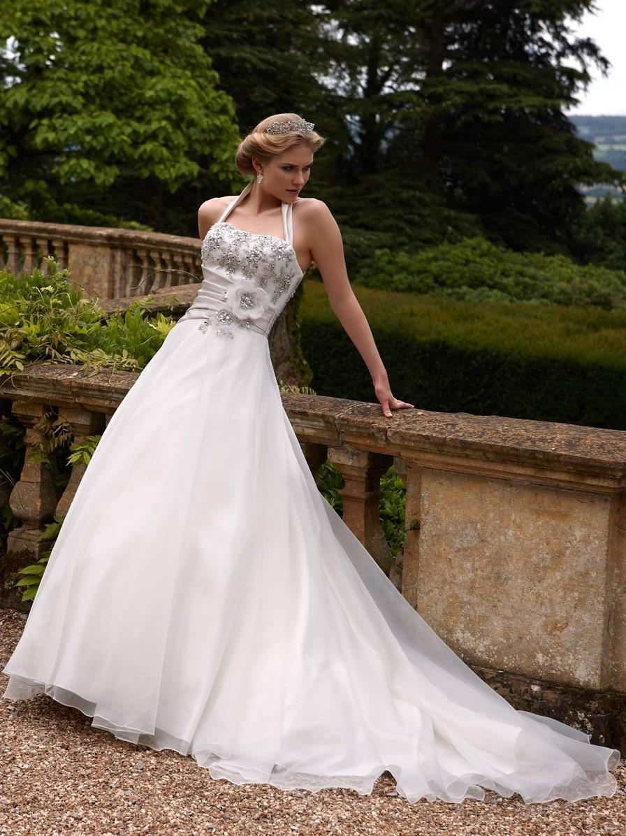 Bridal Dresses, Opulence Verona wedding dress (2013 collection). A pretty design with embellished co