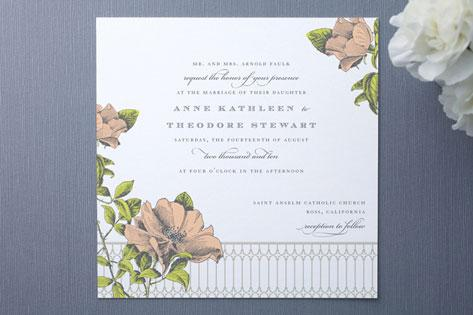 Woodland, Floral and Botanical Stationary