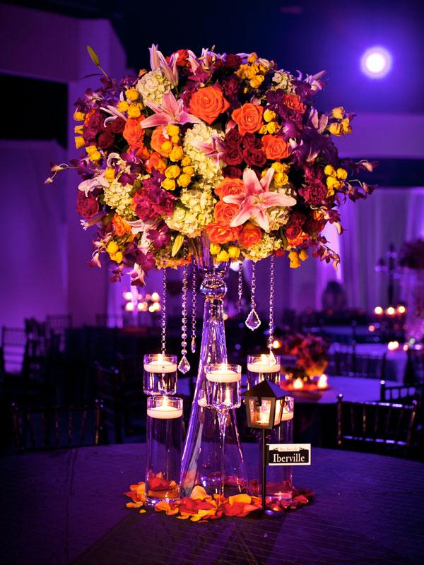 Centerpieces and favours