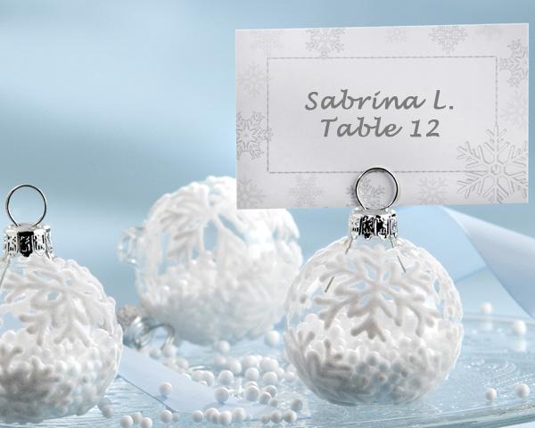 Christmas Wedding favors and table ideas