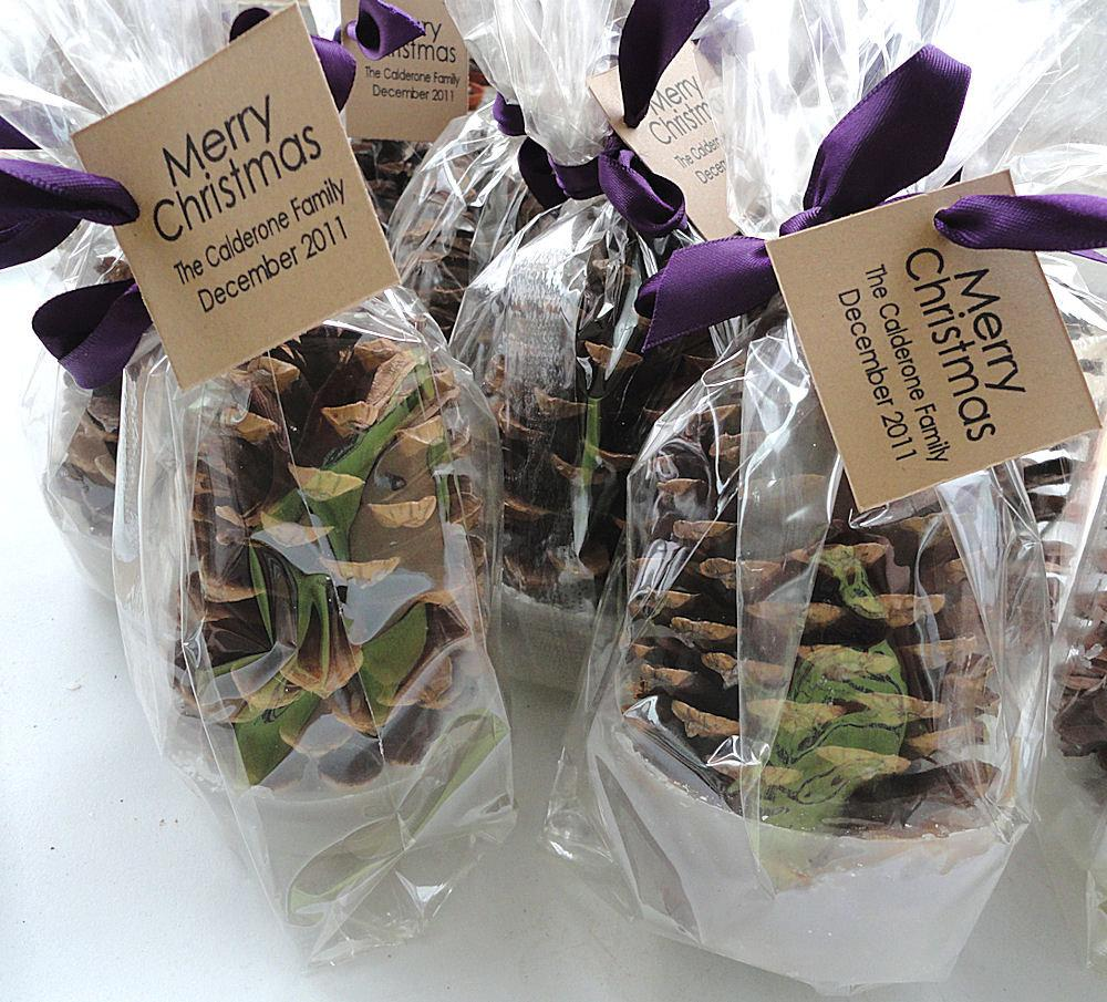 christmas themed wedding favours