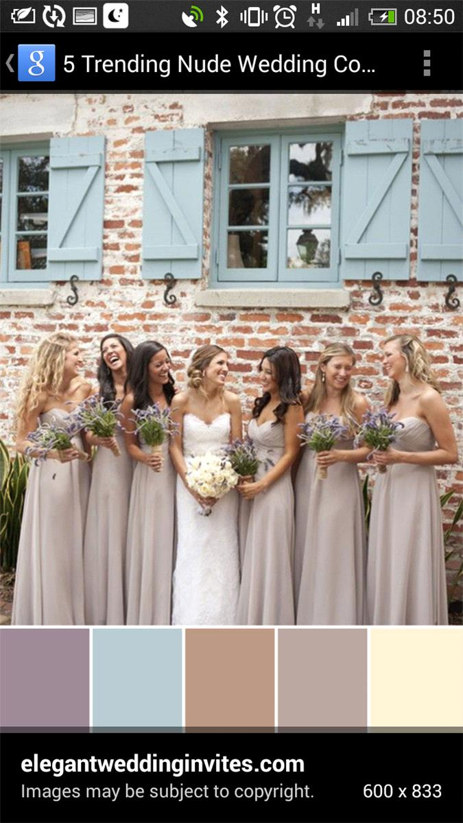 Bridesmaid inspiration