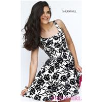 https://www.petsolemn.com/sherrihill/3003-sherri-hill-short-print-dress-in-black-and-ivory.html