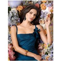 https://www.dazukleider.de/brautjungfer/493-teal-square-neck-tee-lange-brautjungfer-kleid-mit-blume-