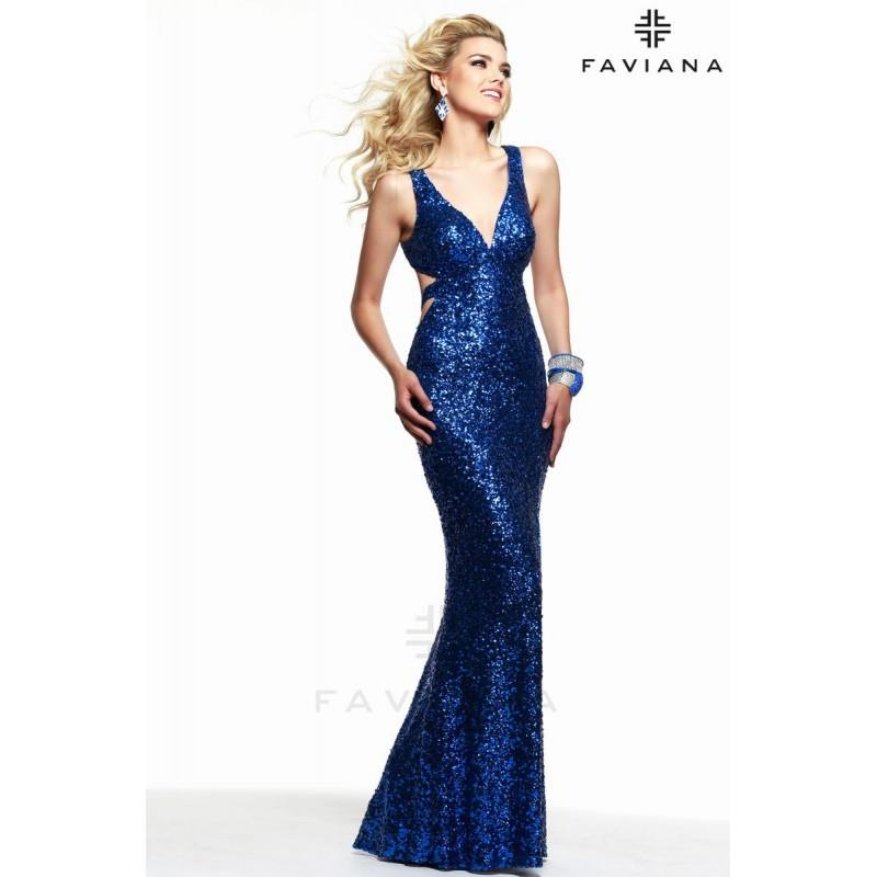 My Stuff, https://www.princessan.com/en/10337-faviana-7313-cut-out-sequin-gown.html