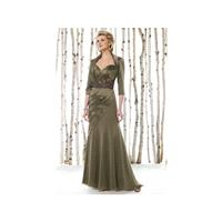 Cameron Blake by Mon Cheri Mother of the Bride Jacket Dress 211600 - Brand Prom Dresses|Beaded Eveni