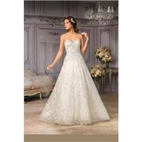 Style T182013 by Jasmine Couture - Ballgown Floor length LaceTulle Sweetheart Sleeveless Dress - 201