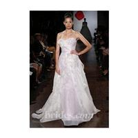 Austin Scarlett - Fall 2013 - Strapless Ruffled A-Line Wedding Dress - Stunning Cheap Wedding Dresse