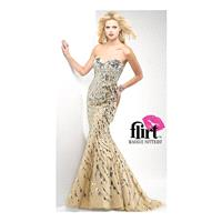 Flirt Red Carpet Ready Tulle and Sequin Prom Dress P2678 - Brand Prom Dresses|Beaded Evening Dresses