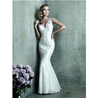Allure Couture C291 Beaded Sheath Wedding Dress - Crazy Sale Bridal Dresses|Special Wedding Dresses|