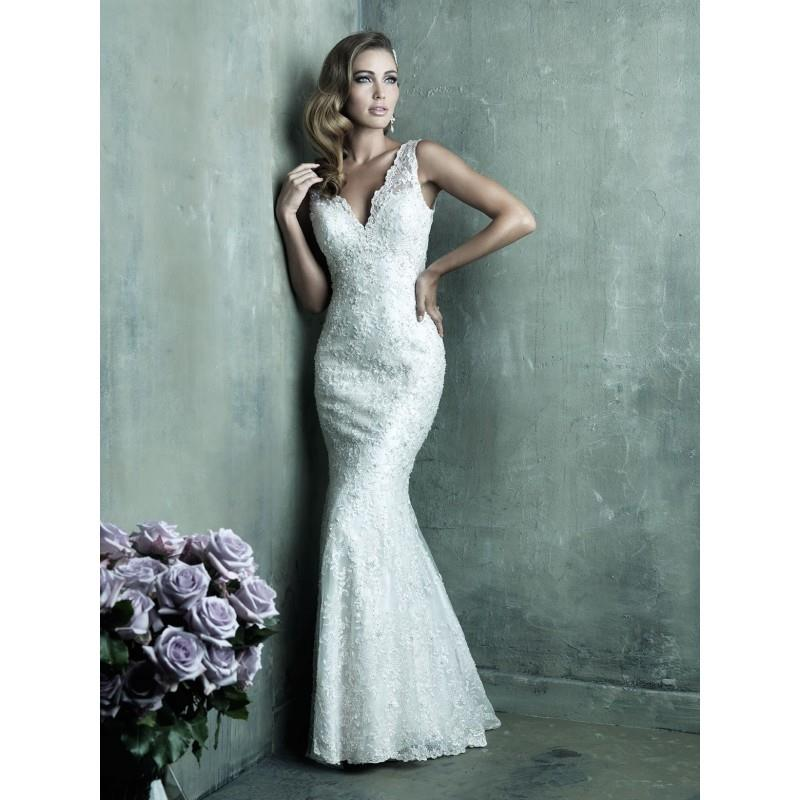My Stuff, Allure Couture C291 Beaded Sheath Wedding Dress - Crazy Sale Bridal Dresses|Special Weddin