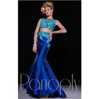 Pink/Fuchsia Panoply 14667 - 2-piece Mermaid Dress - Customize Your Prom Dress