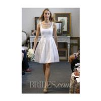 Watters - Fall 2013 - Alder Knee-Length Wedding Dress with Scoop Neckline - Stunning Cheap Wedding D
