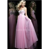 Timeless Sleeveless A line Floor Length Sweetheart Chiffon Prom Dresses With Beading - Compelling We