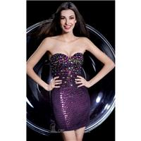 Strapless Sweetheart Dress by Alyce Homecoming 4258 - Bonny Evening Dresses Online