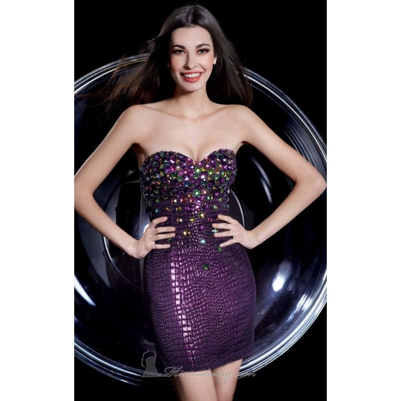 My Stuff, Strapless Sweetheart Dress by Alyce Homecoming 4258 - Bonny Evening Dresses Online