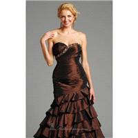 Elegant Evening Gown Dress by Jolene 12021 - Bonny Evening Dresses Online