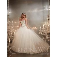 Ivory/Silver Christina Wu Bridal 15574 - Brand Wedding Store Online