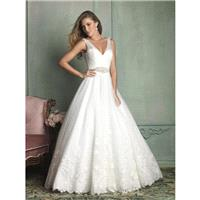 Cheap 2014 New Style Allure Wedding Dresses 9124 - Cheap Discount Evening Gowns|Bonny Party Dresses|