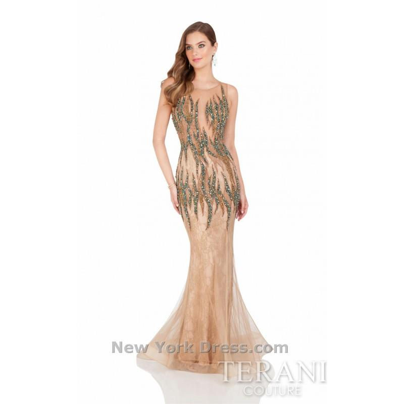 My Stuff, Terani 1612GL0511 - Charming Wedding Party Dresses|Unique Celebrity Dresses|Gowns for Brid