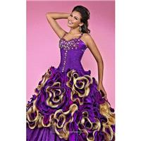 Embellished Ruffled by Landa Designs Quinceanera AQ23 - Bonny Evening Dresses Online