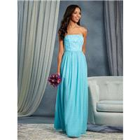 Aqua Alfred Angelo Bridesmaids 7378L - Brand Wedding Store Online