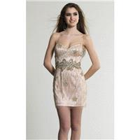 Embellished Sweetheart Dress by Dave and Johnny 153 - Bonny Evening Dresses Online