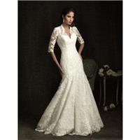 Allure Bridals 8900 Vintage Lace Wedding Dress - Crazy Sale Bridal Dresses|Special Wedding Dresses|U