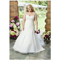 Roz la Kelin - Glamour plus Collection 5542T - Charming Custom-made Dresses|Princess Wedding Dresses
