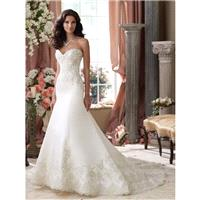 David Tutera 114279 Isidore Wedding Dress - Wedding Full Skirt Long Strapless, Sweetheart David Tute
