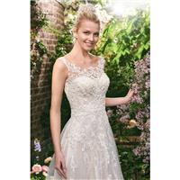 Style Alexis by Rebecca Ingram - Floor length Illusion Sleeveless LaceTulle A-line Dress - 2017 Uniq