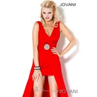 2014 Cheap V Dip Gown by Jovani Prom 3394 Dress - Cheap Discount Evening Gowns|Bonny Party Dresses|C