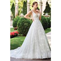 Style 117271 by David Tutera for Mon Cheri - Chapel Length Sleeveless A-line Floor length V-neck Org