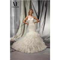 White Angelina Faccenda Bridal by Mori Lee 1309 - Brand Wedding Store Online