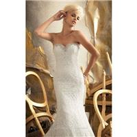 2014 Cheap Strapless Embroidered Lace by Bridal by Mori Lee 1918 Dress - Cheap Discount Evening Gown