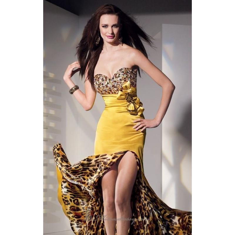 My Stuff, Gold Charmeuse Dress by Alyce Prom - Color Your Classy Wardrobe