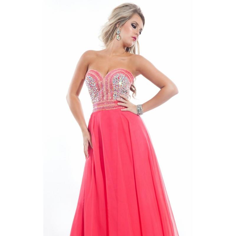 My Stuff, Sweetheart Evening Gown Dresses by Rachel Allan Princess 2825 - Bonny Evening Dresses Onli
