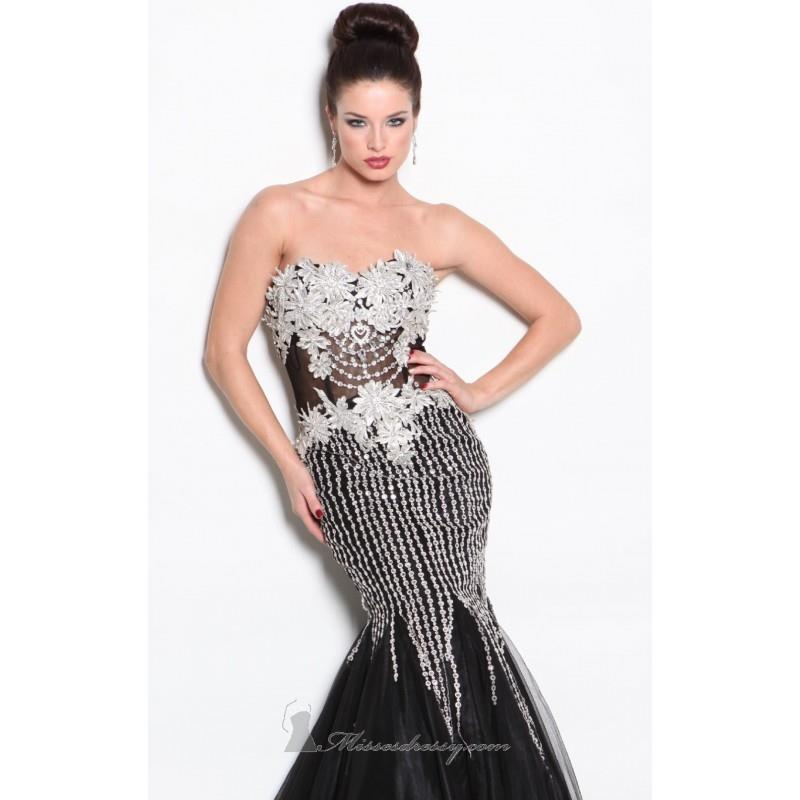 My Stuff, Strapless Sweetheart Gown by Atria AC11425 - Bonny Evening Dresses Online