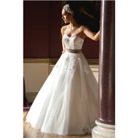 Style C16406 by Special Day Claddagh Collection - Ivory  White Tulle Floor Sweetheart  Strapless A-L