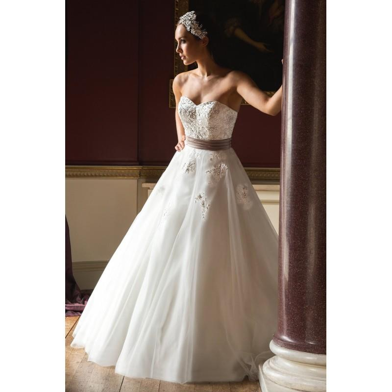My Stuff, Style C16406 by Special Day Claddagh Collection - Ivory  White Tulle Floor Sweetheart  Str