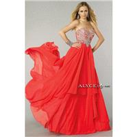 Baby Pink Alyce Paris 6443 - Chiffon Dress - Customize Your Prom Dress