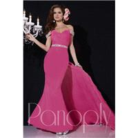 Panoply 14707 Formal Gown with Back Float - Brand Prom Dresses|Beaded Evening Dresses|Charming Party