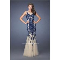 Navy La Femme 19916 La Femme Prom - Rich Your Wedding Day