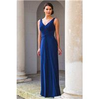Special Day Style D17209 by Special Day Diamond Collection - V-Back Floor V-Neck Column Special Day