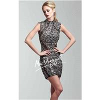 Sequined Cocktail Dress by Mac Duggal Twelve 82196T - Bonny Evening Dresses Online