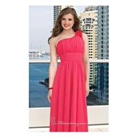 Ruched Satin Dress by Bridesmaids by Mori Lee - Color Your Classy Wardrobe