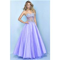 Wholesale Fascinating Prom Dresses A Line Beaded Floor Length - dressosity.com