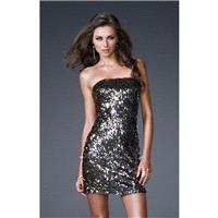 Gold/Silver La Femme 15943 - Sequin Dress - Customize Your Prom Dress