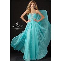 Alyce 6925 Strapless Chiffon Evening Gown Website Special - 2017 Spring Trends Dresses|Beaded Evenin