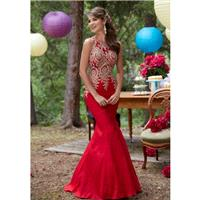 Red Sugarplum Morilee Prom 98035 Morilee Prom - Top Design Dress Online Shop